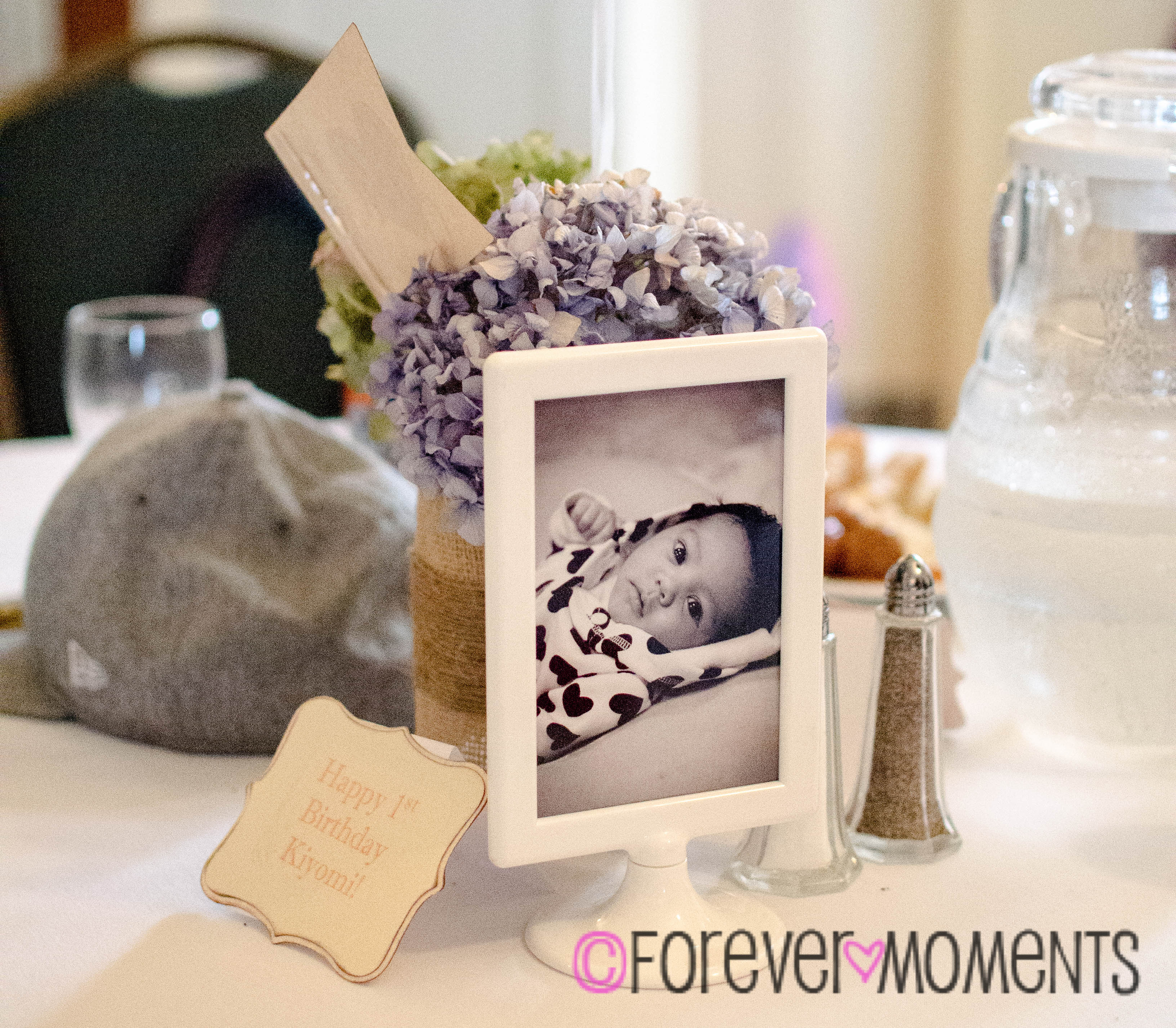 Vintage 1st Birthday Forever Moments Events