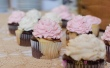Pink Vintage Rose Cupcakes @ Landmark Event Center