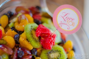 Mother's Day Decorations Fruit Salad