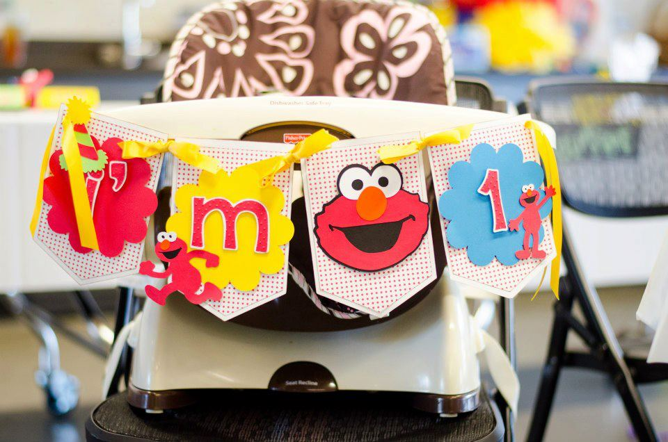 Sesame Street Birthday Banner Decorations